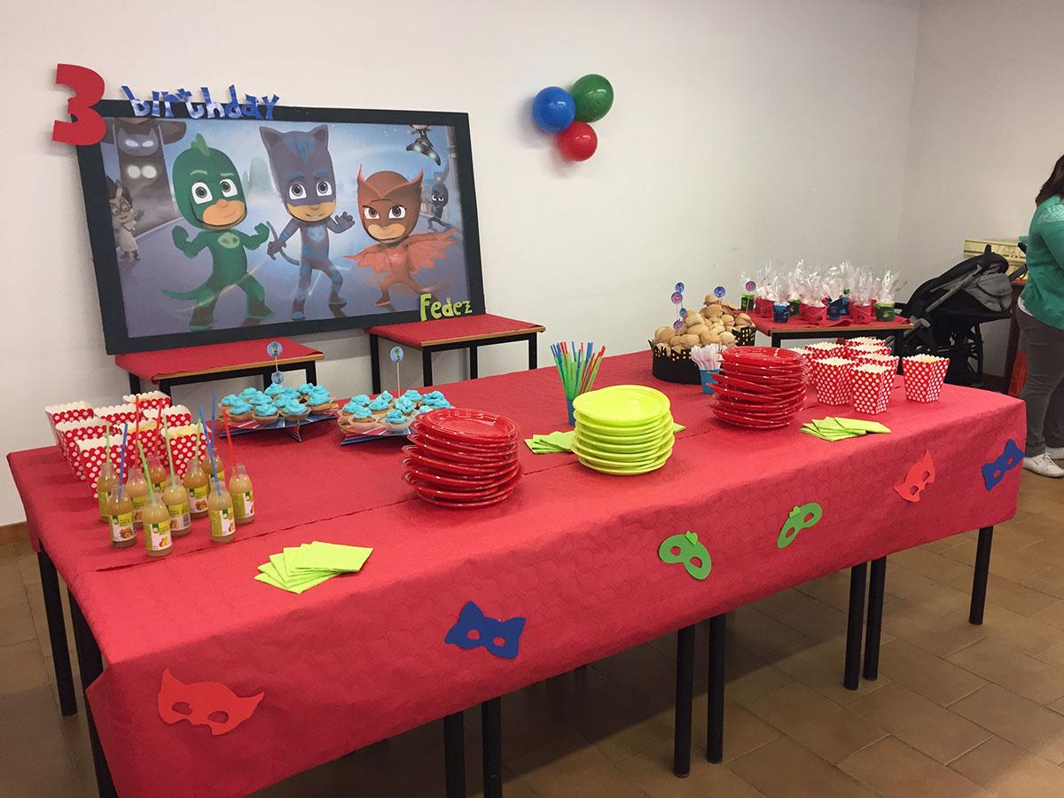 allestimento buffet compleanno