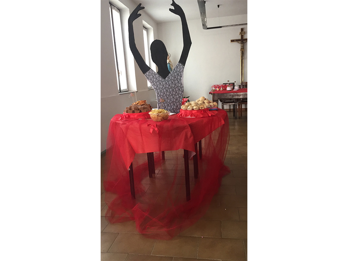 allestimento compleanno buffet
